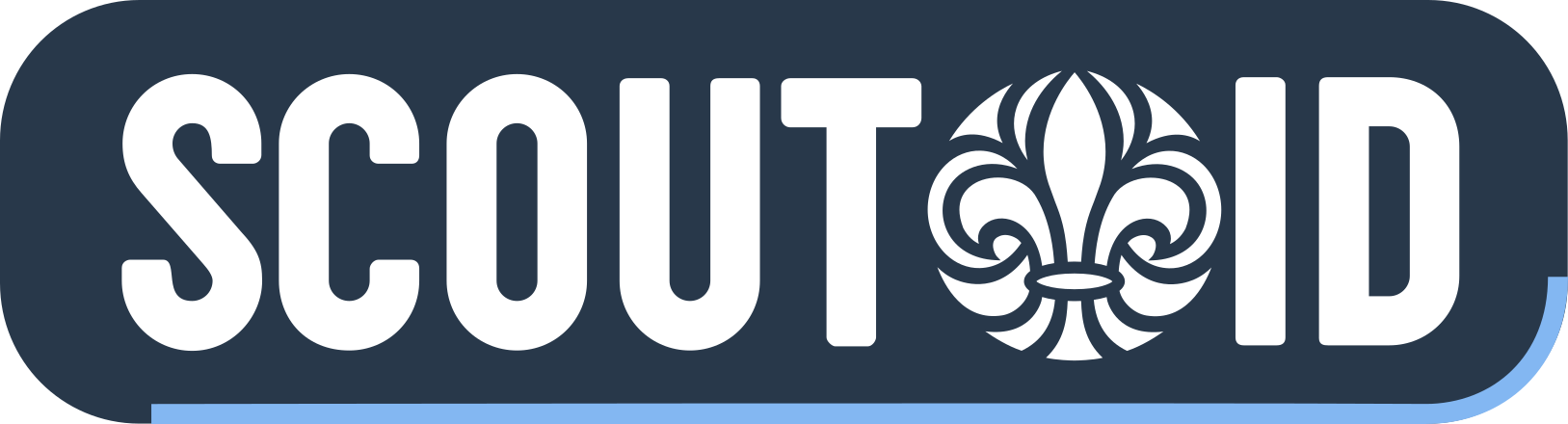 Button logo with ScoutID
